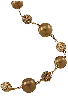 Carolee Gold Standard Illusion Necklace
