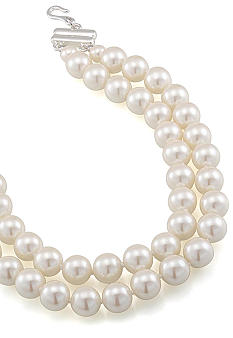 Carolee Adjustable Pearl Necklace