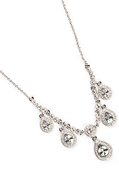 Carolee Crystal Frontal Necklace