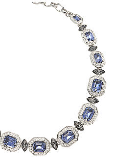 Carolee Royal Blue Crystal Necklace