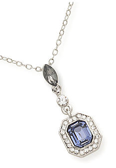 Carolee Royal Blue Pendant Necklace