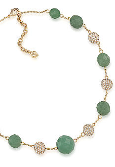 Carolee Rock Stars Aventurine Illusion Necklace