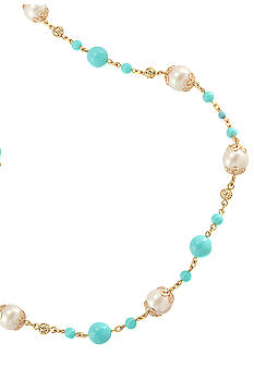 Carolee Blue Skies Illusion Necklace