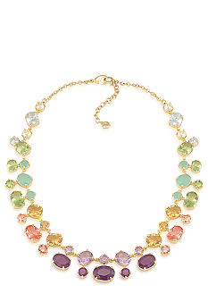 Carolee High Class Color Dramatic Collar Necklace