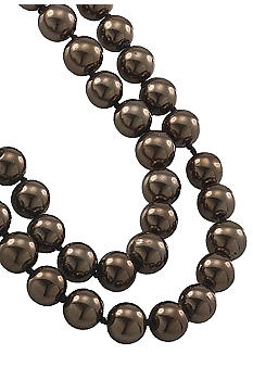 Carolee Sable Pearl Rope Necklace