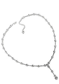 Carolee 16-in. Crystal Chain Y Drop Necklace