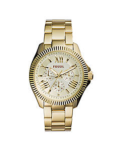 Fossil® Women's Gold-Tone Stainless Steel Cecile Multifunction Watch