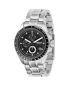 Fossil Men's Black Dial Watch
