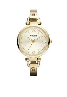 Fossil Georgia Stainless Steel Gold Tone Watch