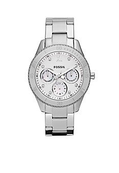 Fossil Ladies Stainless Steel Stella Watch