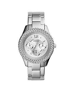 Fossil Women's Stainless Steel Stella Multifunction Glitz Watch