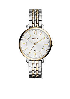 Fossil Jacqueline Three-Hand Two-Tone Stainless Watch