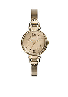 Fossil Women's Georgia Gold-Tone Watch