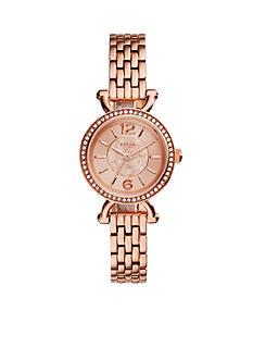 Fossil Women's Georgia Rose Gold-Tone Watch