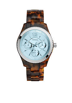 Fossil Women's Stella Brown Tortoise Multifunction Watch