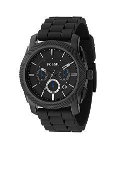Fossil Gents Chrono Black IP