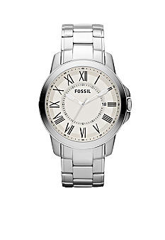 Fossil® Men's Grant Stainless Steel Watch