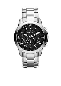 Fossil® Men's Stainless Steel Round Chronograph Grant Watch
