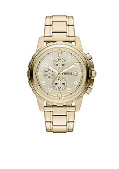 Fossil Men's Gold Tone Chronograph Dean Watch
