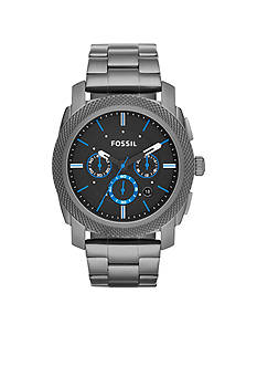 Fossil Men's Smoke Stainless Steel Machine Chronograph Watch