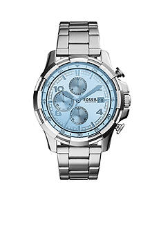 Fossil Men's Dean Stainless Steel Bracelet Chronograph Watch