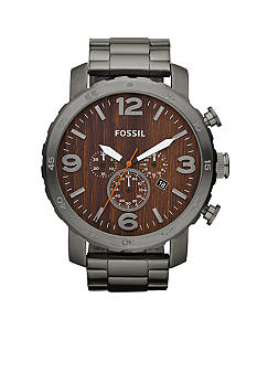 Fossil Nate Stainless Steel Watch