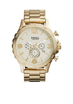 Fossil Men's Gold-tone Chronograph Watch