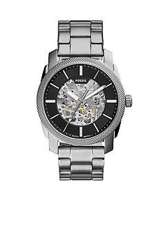 Fossil Men's Machine Stainless Steel Automatic Watch