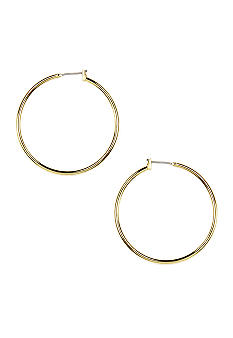 Anne Klein Gold Hoop Earrings