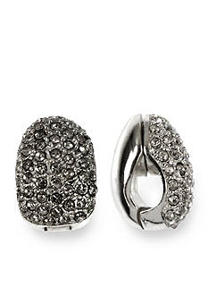 Anne Klein Crystal Magnetic Earring