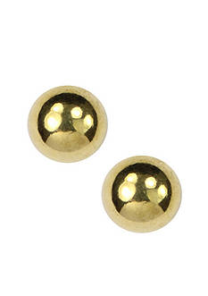 Anne Klein Gold-Tone Ball Stud Earring