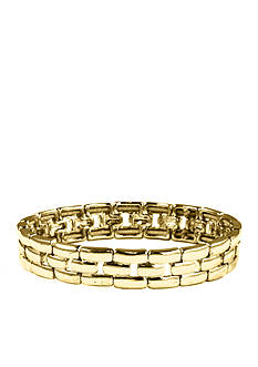 Anne Klein Gold Stretch Bracelet