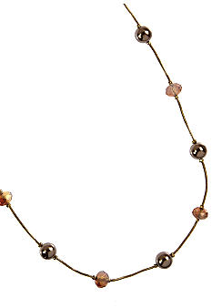 Anne Klein Coral Illusion Necklace