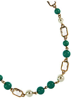 Anne Klein Turquoise Collar Necklace