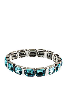 Anne Klein Aqua Stretch Bracelet