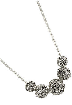 Anne Klein Fireball Necklace