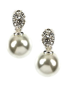 Anne Klein Pearl Drop Earrings