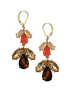 Anne Klein Burst and Bloom Earring