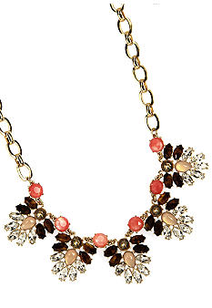 Anne Klein Burst and Bloom Drama Necklace