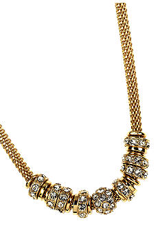 Anne Klein Gold Rondelle Necklace
