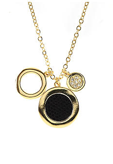 Anne Klein Circle Drop Pendant