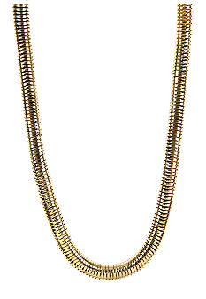 Anne Klein Gold Tone Collar Necklace