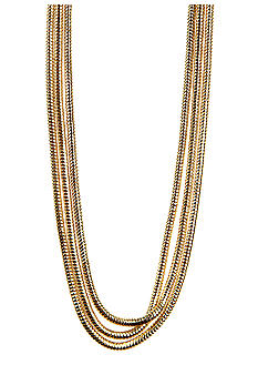 Anne Klein Gold Tone Necklace Strand