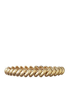Anne Klein Gold-Tone Stretch Bracelet
