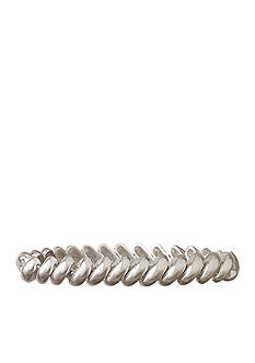 Anne Klein Silver-Tone Stretch Bracelet