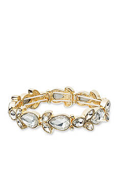 Anne Klein Crystal Stretch Bracelet
