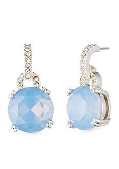 Anne Klein Blue Post Drop Earrings