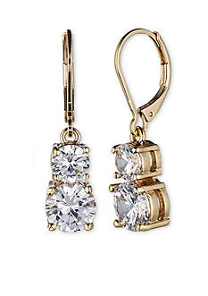 Anne Klein Double Drop Earring