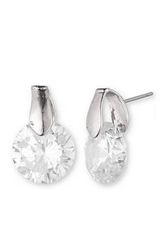 Anne Klein Cubic Zirconia Drop Earrings