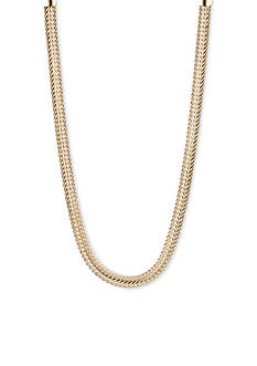 Anne Klein Gold-Tone Collar Necklace